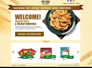 Restaurant Menu Free PSD Template