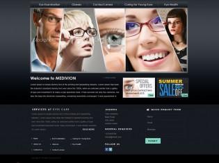 Eyes Care Center PSD Template