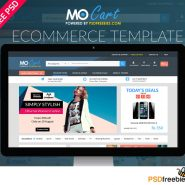 Mocart e-Commerce Website PSD Template