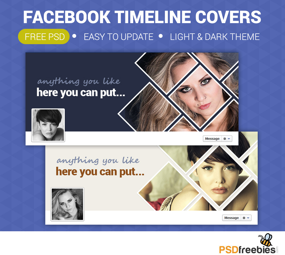 Facebook Timeline Covers Free PSD - PSDFreebies.com