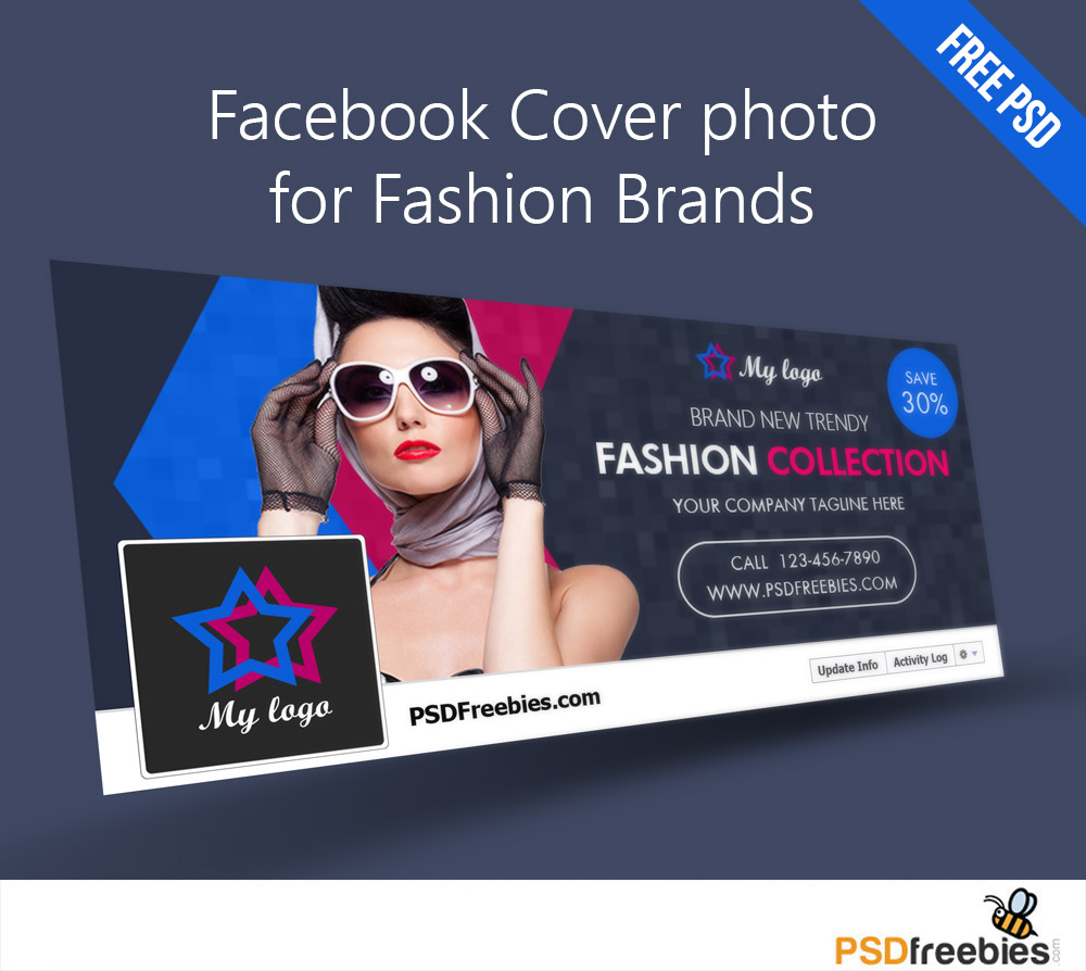 Facebook Cover Photo For Fashion Brands Free Psd