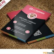 Modern Corporate Business Card Free PSD Vol 2