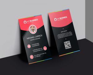 Modern Corporate Business Card Free PSD Vol 2