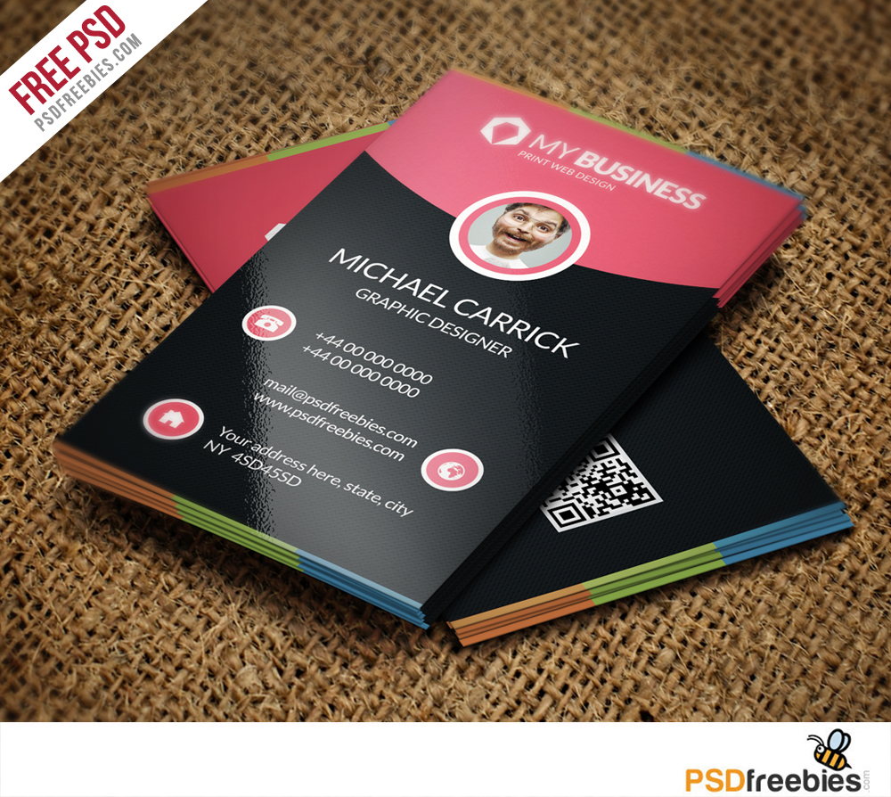 Modern corporate business card free psd vol 2 psdfreebies modern corporate business card free psd vol 2 fbccfo Images