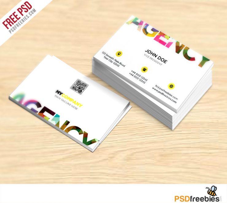 Creative Business Card Free PSD Template