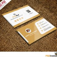 Restaurant Chef Business Card Template Free PSD