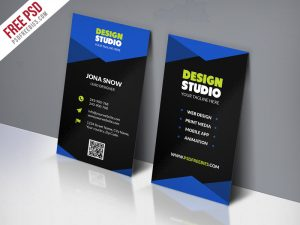 Design Studio Business Card Template Free PSD