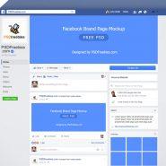 Facebook Mockup 2018 PSD Template
