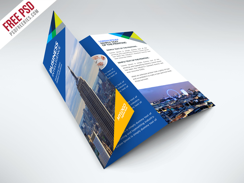 brochure trifold template - gym and fitness club flyer template free psd psdfreebies