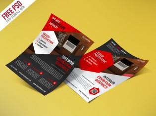 Creative Corporate  Flyer Bundle Free PSD