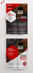 Creative Corporate Flyer Bundle Free PSD