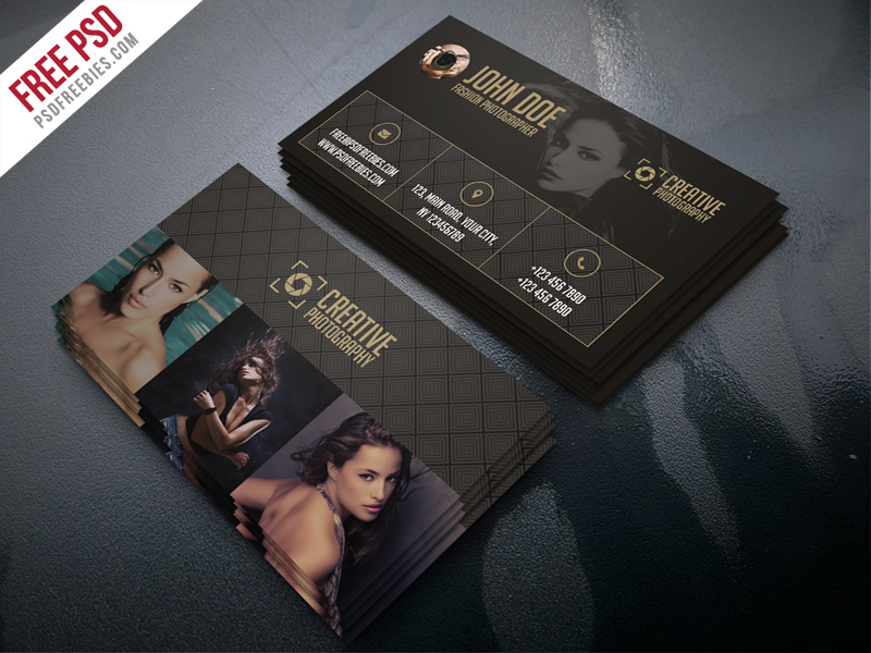 Fashion photographer business card template free psd psdfreebies fashion photographer business card template free psd cheaphphosting Gallery