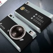 Photography Business Card Template Free PSD