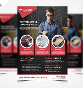 Corporate Business Flyer Template PSD Freebie