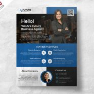 Corporate Flyer PSD Template