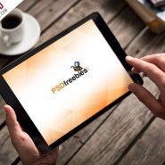 Photorealistic iPad Mockup PSD Template