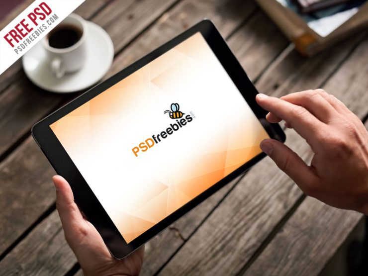 Photorealistic iPad Mockup PSD Template