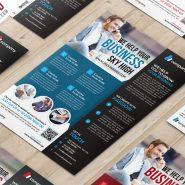Multipurpose Corporate Flyer PSD Template