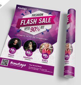 Fashion Sale Flyer Template Free PSD
