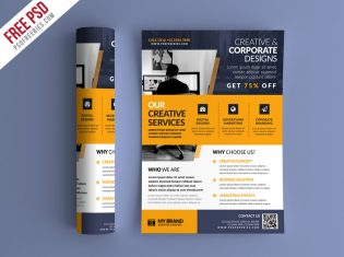 Business Promotional Flyer PSD Template