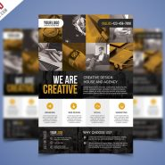 Corporate Business Flyer PSD Flyer Bundle