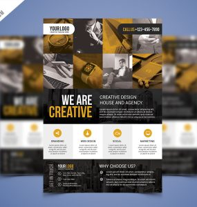 Corporate Business Flyer PSD Flyer Bundle