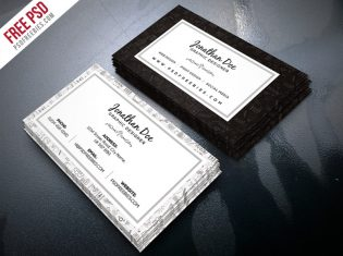 Freelance Designer Business Card Template PSD
