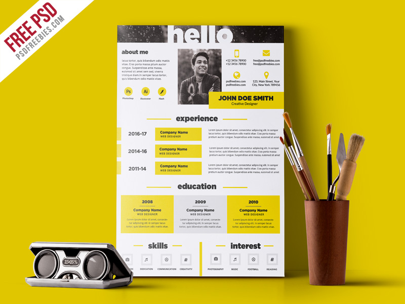 unique resume templates