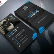 Photographer Business Card PSD Bundle