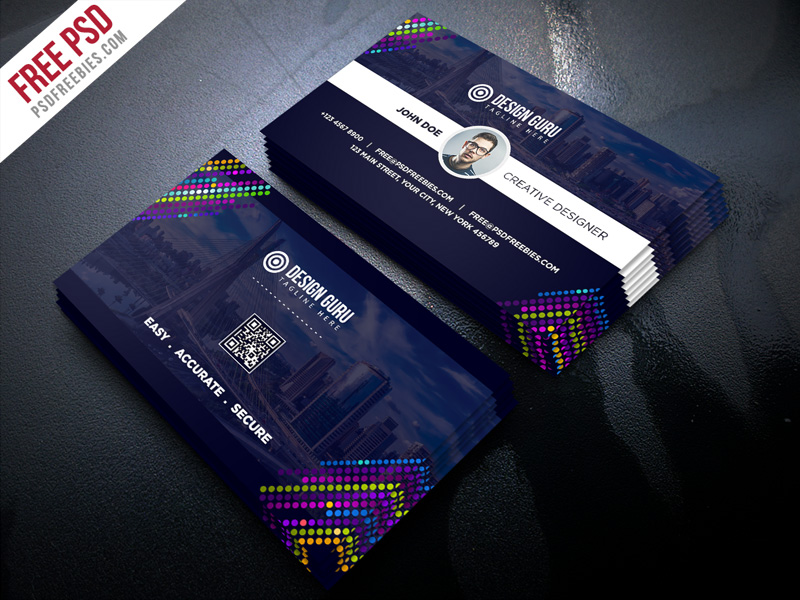Creative Business Card Template Free Psd Psdfreebies