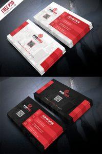 Creative Business Card Template PSD Bundle