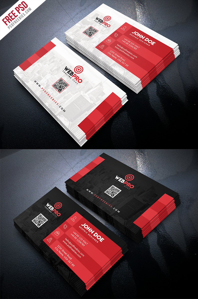 Creative Business Card Template PSD Bundle
