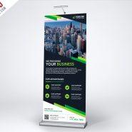 Multipurpose Creative Roll-up Banner Template PSD