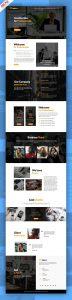 Personal Portfolio and Corporate Website Template PSD