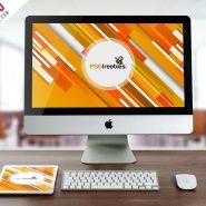 iMac and iPad Mockup Free PSD