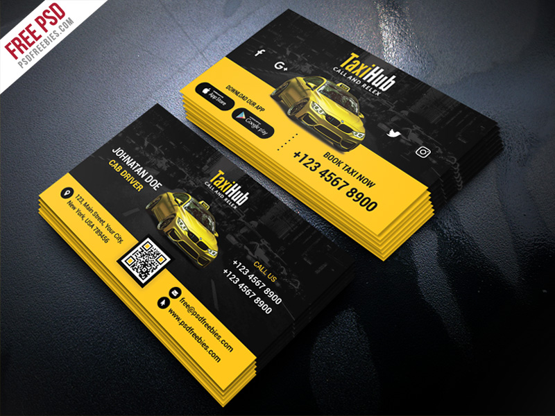 Cab taxi services business card template psd psdfreebies cab taxi services business card template psd accmission