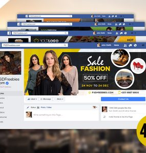 Business Facebook Timeline Cover PSD Bundle
