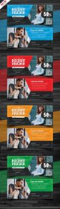 Discount Voucher Design Free PSD Bundle