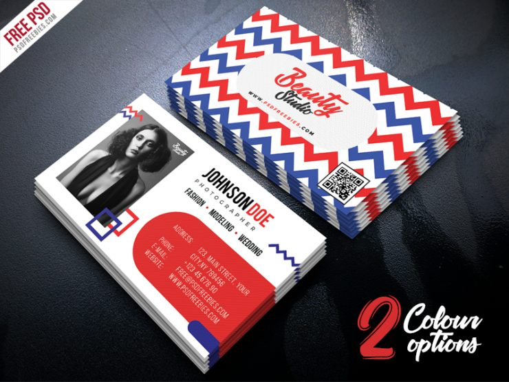 Creative Business Card Free PSD Set
