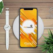 Free Apple iPhone X Mockup PSD