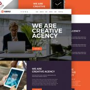 Free Modern Website PSD Template