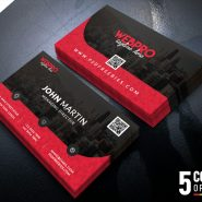 Corporate Business Card Free PSD Bundle