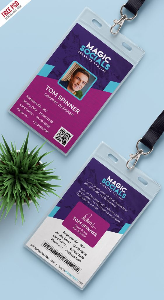 Office-Identity-Card-Free-PSD