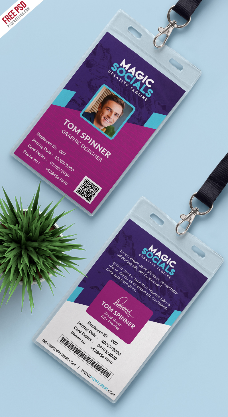 Office-Identity-Card-Free-PSD