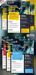 Corporate Business Promotional Flyer PSD Bundle