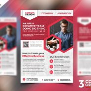 Free Business Promotional Flyer PSD Bundle