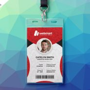 Office Photo Identity Card PSD