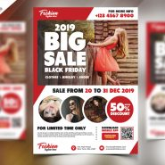 Sale Promotional Free Flyer PSD