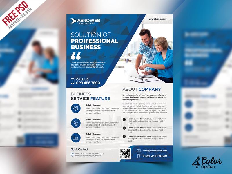 corporate flyers free psd bundle psdfreebies com