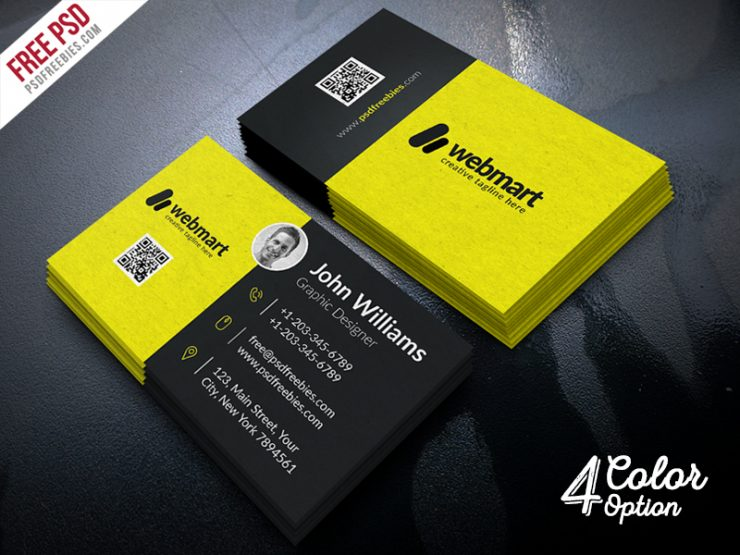 Business Card Free PSD Bundle